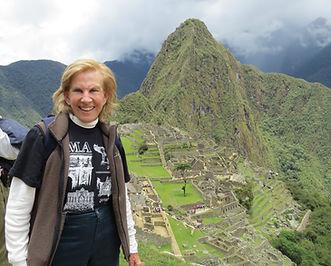 Nancy in Peru