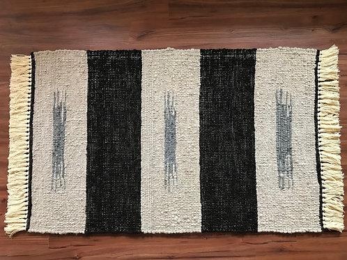 3' x 5'  Alpaca Woven Rugs:   Indian Print Design