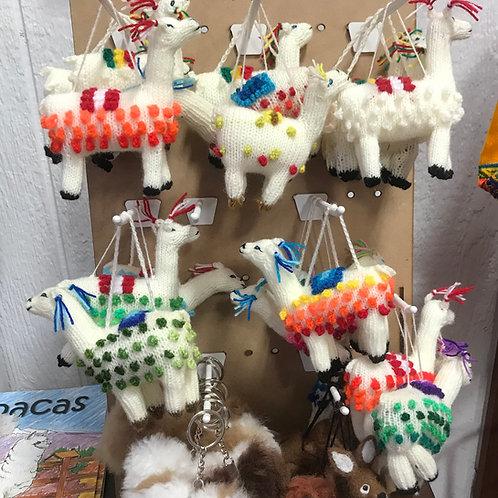 Alpaca Ornament/Keepsake Memento