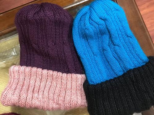 Reversible Alpaca Hats - Several Colors