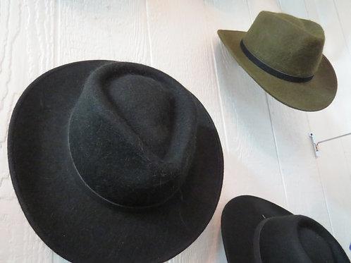 Western Alpaca Felted Hat