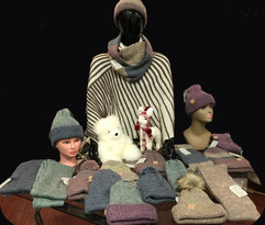 Alpaca Hats & Scarves Designed by Columb