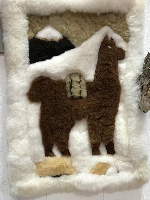 Alpaca Wall Hanging