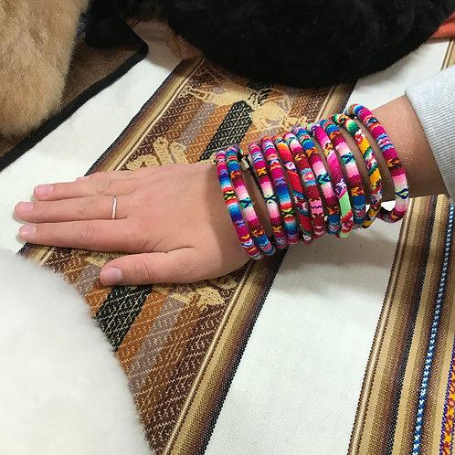 Peruvian Bangle Bracelet