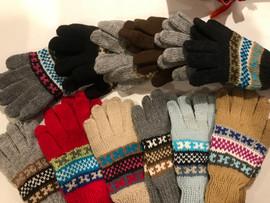 Accessories - Bright Peruvian Mittens in