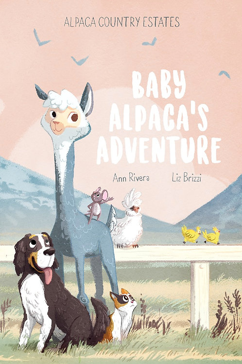 Baby Alpaca's Adventure - Book in Paperback or Hardcover
