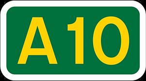 A10 Road Sign