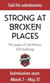 "How to get Published in ""Strong at Broken Places"" & Other Anthologies"