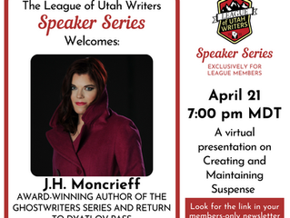 Award-Winning Author J.H. Moncrieff is a Genius