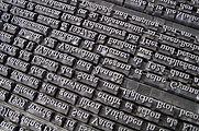 D'anciens caractères d'imprimeries