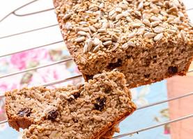 Pão integral de aveia (super fácil)