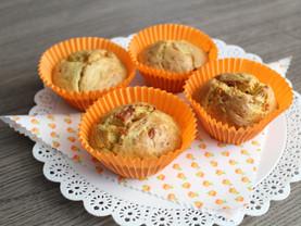 Muffin de queijo e abobrinha