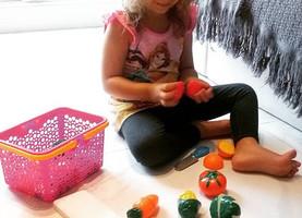 Brinquedos e jogos que incentivam a alimentação saudável para crianças