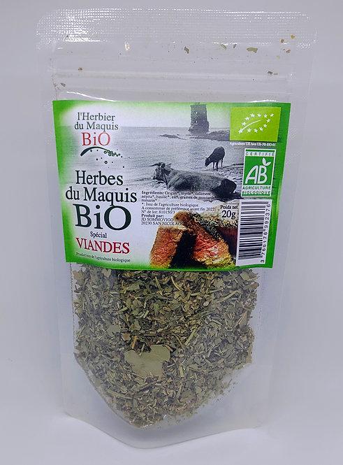 Herbes spécial viandes BIO*