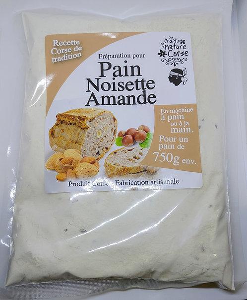 Préparation Pain noisettes/amandes