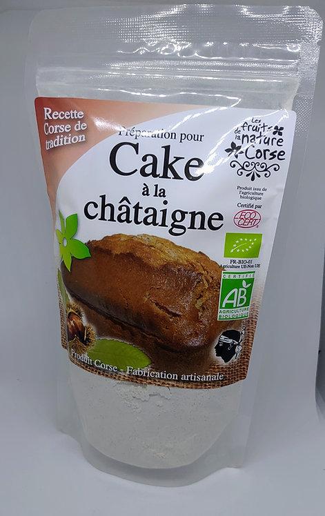 Préparation Cake à la châtaigne BIO*