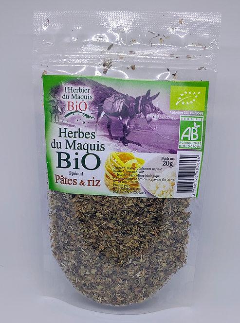 Herbes spécial pates/riz BIO*