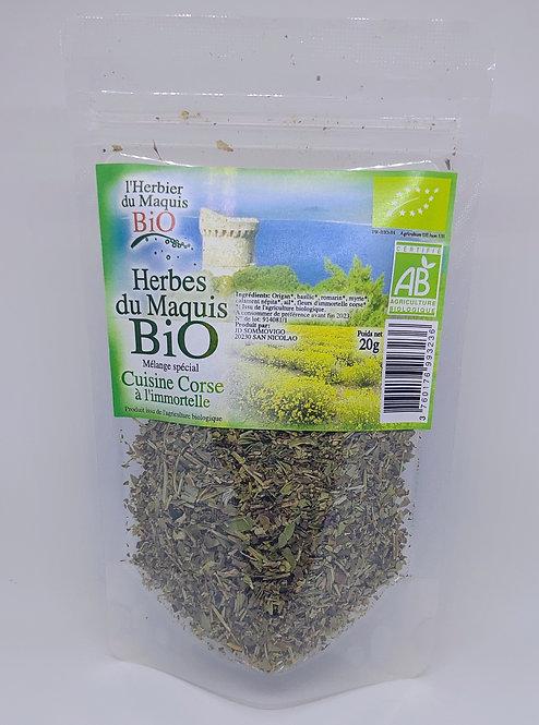 Herbes cuisine corse à l'immortelle BIO*