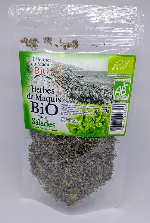 Herbes spécial salades BIO*