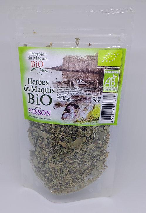 Herbes spécial poisson BIO*