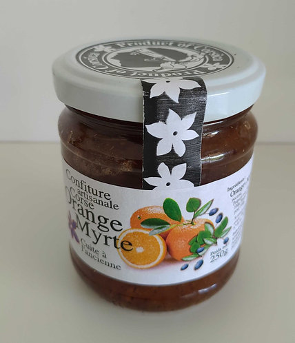 Confiture d'orange myrte