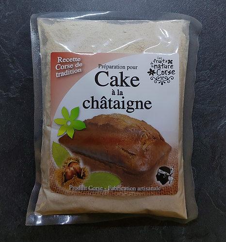Préparation Cake à la châtaigne