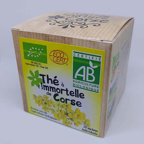 Boite Thé Immortelle BIO*