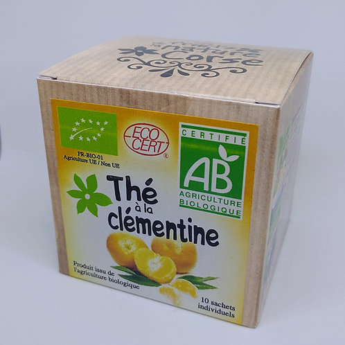 Boite Thé Clémentine BIO*