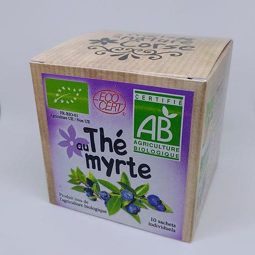 Boite Thé Myrte BIO*