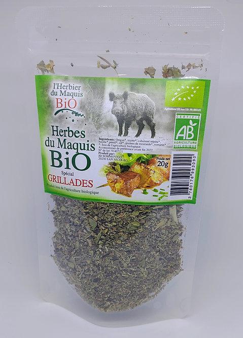 Herbes Spécial grillades BIO*