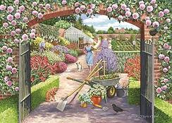Walled Garden - 500 piece - Lynvale Coll