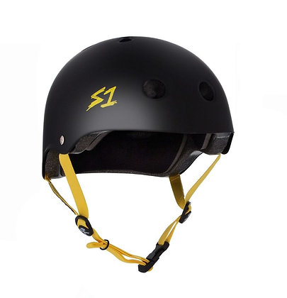 S1 Lifer Black Matte with Yellow Strap