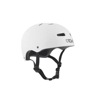 TSG Helmet White (glossy) S-M