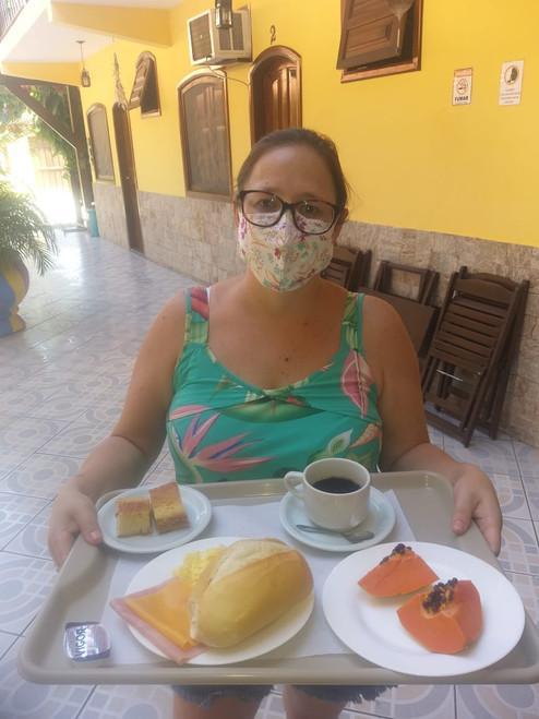 Café da Manhã Pousada Parque Imperial Paraty