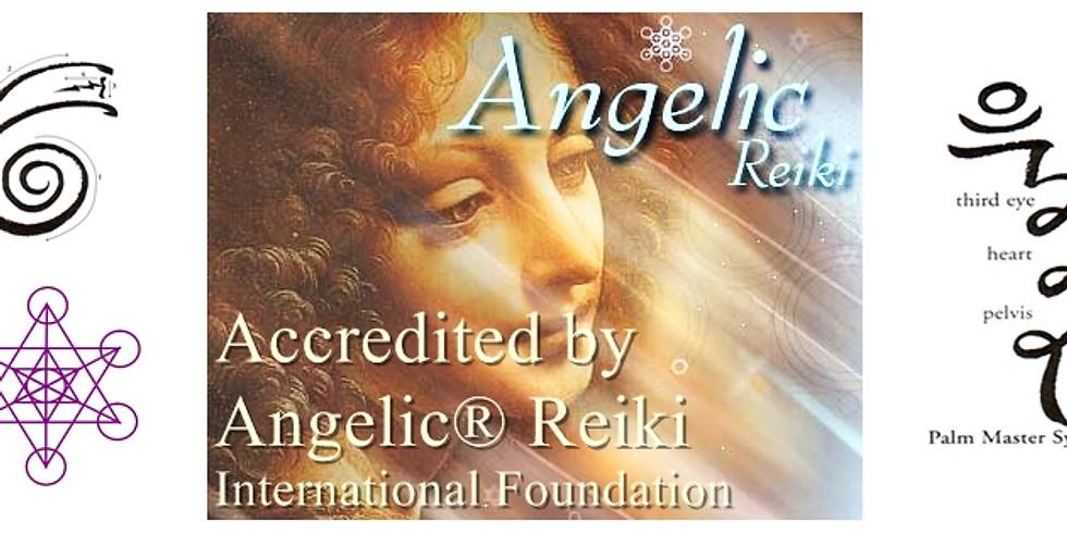 Angelic Reiki® 1st & 2nd Degree Certified Practitioner Workshop