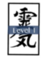 Reiki level 1 with Virginie Esprit blue.