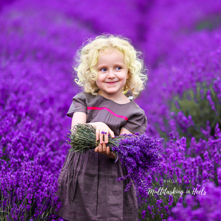Prepping for your photo-session in Lavender Fields