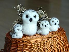 needle felted owls.jpg