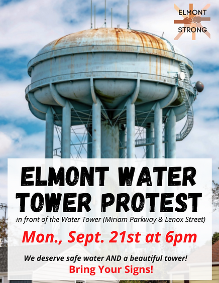 Elmont Water Tower Protest .png