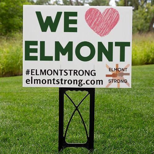 We Love Elmont - Lawn Sign