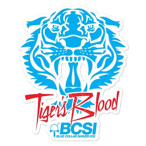 Tiger's Blood Sticker