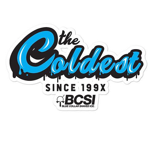 Coldest Since 199X Sticker