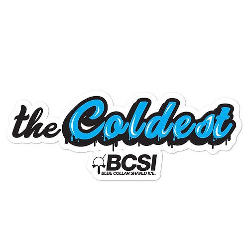 The Coldest Sticker