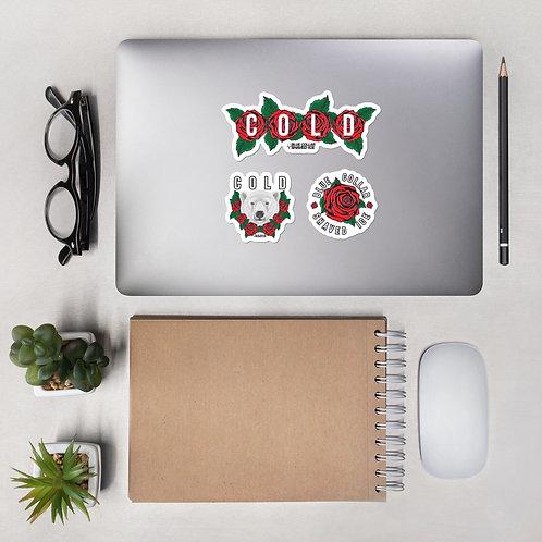 Cold Rose Sticker Pack