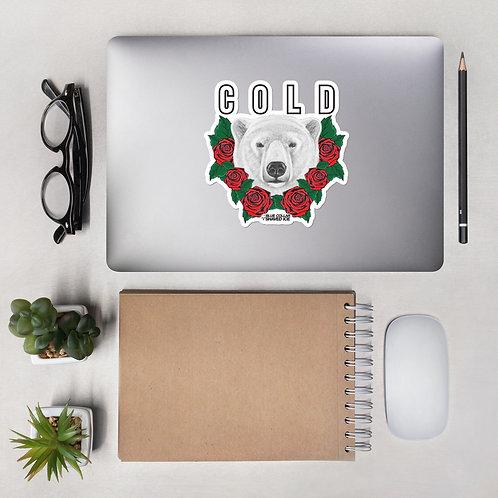 Polar Rose Sticker