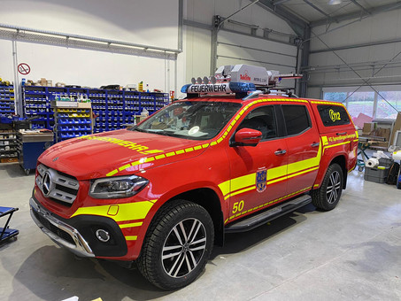Neues Einsatzfahrzeug für die Einheit Gensingen