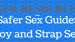 New Resource: A Safer Sex Guide on Toy and Strap Sex
