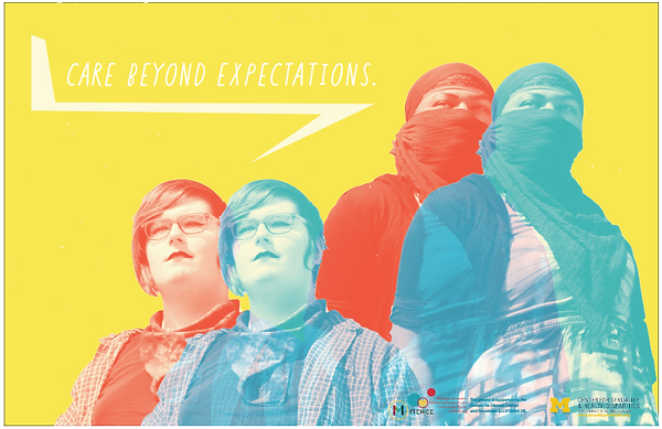 care beyond expectations poster