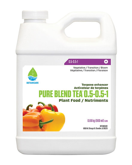 Botanicare Pure Blend Tea 960 ml
