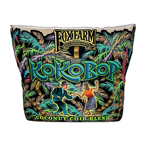 FoxFarm KOKOBOP Coconut Coir Blend, 3 Cu Ft Grow Bag